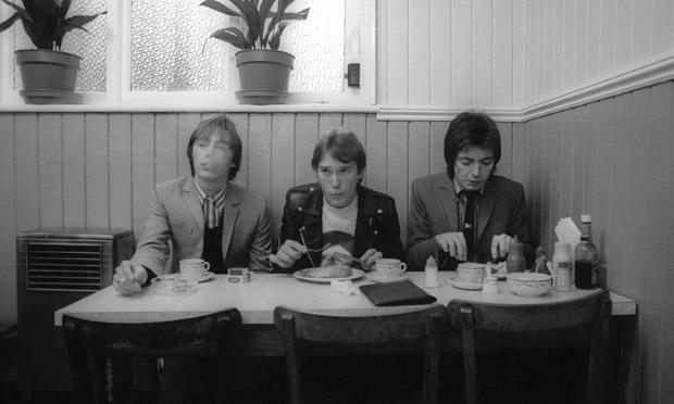 The Jam's Paul Weller, Rick Buckler and Bruce Foxton